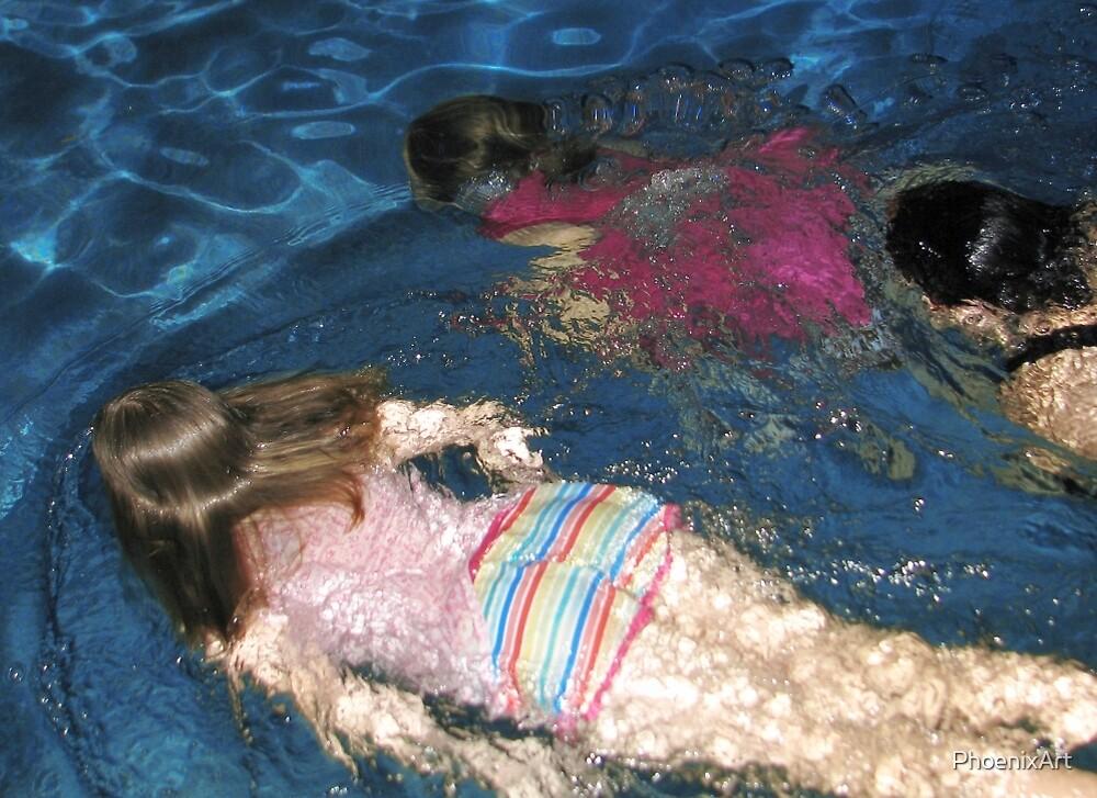 Just Keep Swimming by PhoenixArt
