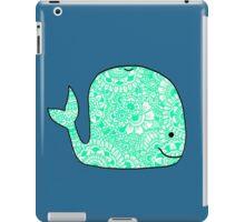 Whale: Teal iPad Case/Skin