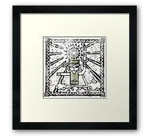 The Hero of Time - Zelda WW Framed Print