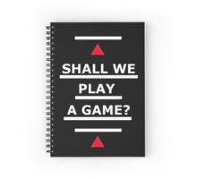 SAMARITAN of Interest War Games Spiral Notebook