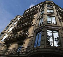 Barcelona's Marvelous Architecture - Passeig de Gracia Facade by Georgia Mizuleva