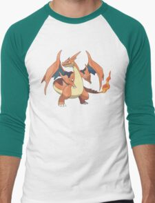 Charizard Y Men's Baseball ¾ T-Shirt