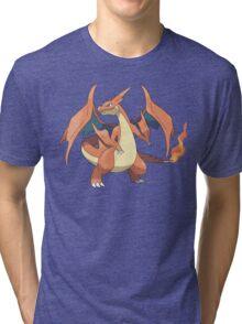 Charizard Y Tri-blend T-Shirt