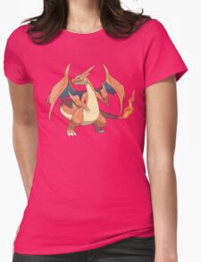Charizard Y Womens Fitted T-Shirt