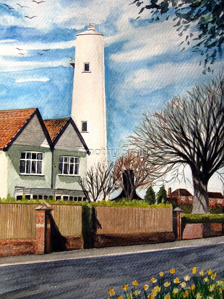 The High Lighthouse, Burnham-on-Sea, Somerset by Timothy Smith