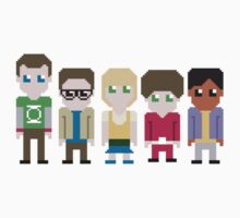 The Big Bang Theory by euerapop
