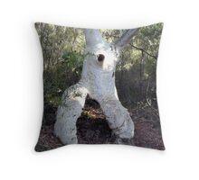 Athletic Gum Tree Throw Pillow