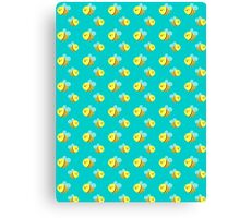 Bees - Pattern Canvas Print