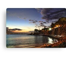 old san juan night Canvas Print
