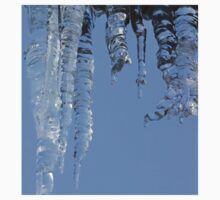 Clear blue sky with Icicles Kids Clothes