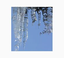 Clear blue sky with Icicles Unisex T-Shirt