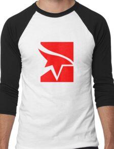 Mirror's Edge Logo Men's Baseball ¾ T-Shirt