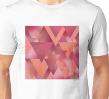 Triangles - Berry Unisex T-Shirt