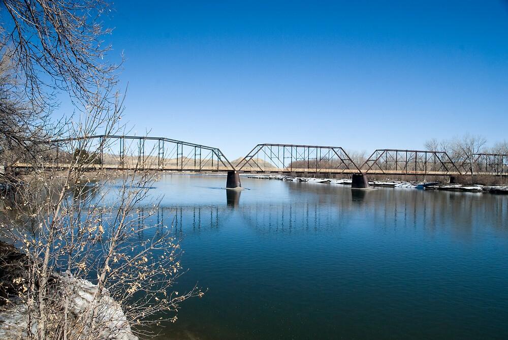 The Missouri River at Fort Benton by Bryan D. Spellman