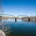 The Missouri River at Fort Benton by Bryan D. Spellman