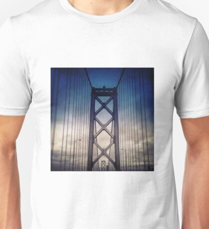 Bay Bridge Gloom Unisex T-Shirt