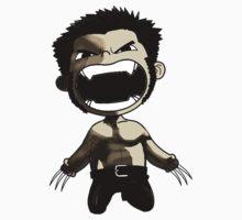 X man Wolverine Kids Clothes