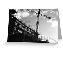Crane & Sky Greeting Card