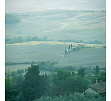 abstract hilly landscape by spetenfia