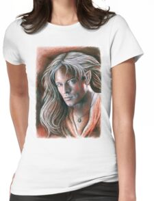 Portrait 4 Womens Fitted T-Shirt