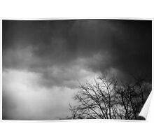 Contrastes en noir et blanc Poster