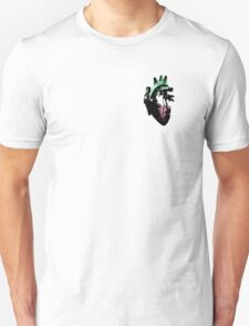 Abroromantic/Abrosexual Pride Heart (with black detailing) T-Shirt