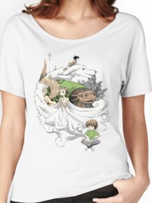 The Neverending Story - Montage  Women's Relaxed Fit T-Shirt