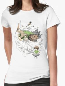 The Neverending Story - Montage  Womens Fitted T-Shirt