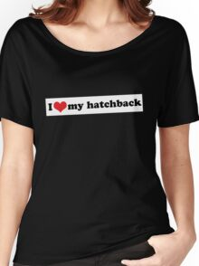 I ♥ my hatchback Women's Relaxed Fit T-Shirt