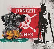 Beware of mines by Linda Abblitt