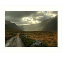 Glen Einich..Light On The Loch Art Print