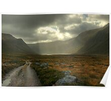 Glen Einich..Light On The Loch Poster