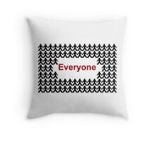 EVERYONE from Elementary Throw Pillow