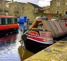 "The Barge ""Pearl Barley"" by Trevor Kersley"