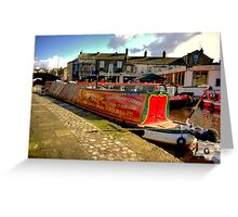 "The Barge ""Pearl Barley""  #2 Greeting Card"