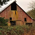 Barn on old dairy farm near Dallas Or. by pdsfotoart