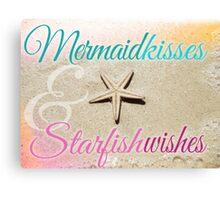 Starfish Wishes Canvas Print