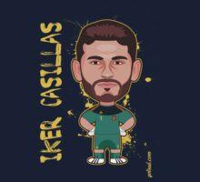 Iker Casillas, Spain by alexsantalo