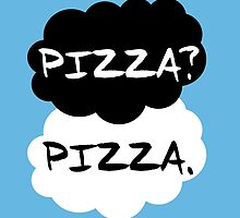 The Fault in our Stars, Pizza? Pizza. by geekymerch