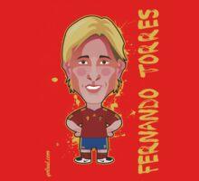 Fernando Torres, Spain by alexsantalo