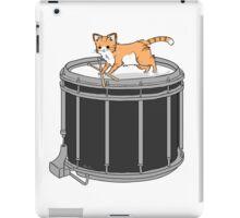 Drum cat iPad Case/Skin