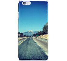 Snow in Arizona iPhone Case/Skin