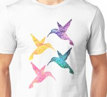 Hummingbird - Multi Unisex T-Shirt