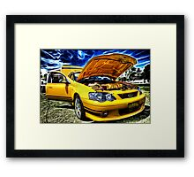 Ford XR8 Ute Framed Print
