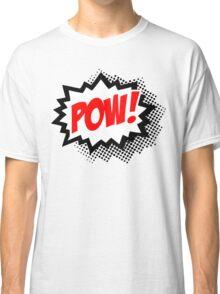 POW! Comic Bubble Classic T-Shirt