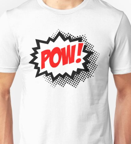 POW! Comic Bubble Unisex T-Shirt