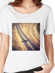 Plane Crossing Women's Relaxed Fit T-Shirt