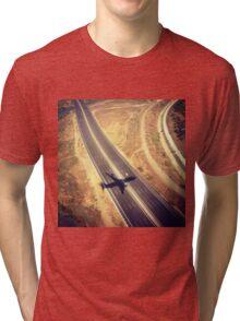 Plane Crossing Tri-blend T-Shirt