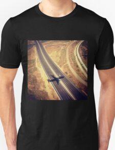 Plane Crossing Unisex T-Shirt