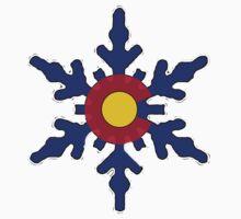 Colorado flag snowflake by artisticattitud
